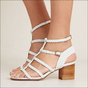 Silent D Strappy Rampili Heels - ALMOST NEW!